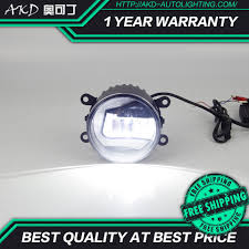 Akd Car Led Fog Lamp For Toyota Wish Estima Innova Verso