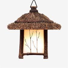 lantern pendant lighting. Pastoral Style Pendant Lights Lamp Bamboo E27 Chinese/Japanese Retro Lantern Hanging For Lighting L