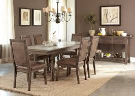 round stone dining table luxury liberty furniture stone brook casual 7 piece trestle table set