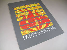 book cover poster fahrenheit 451