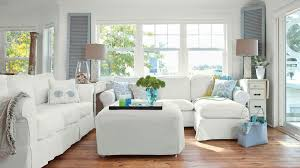 White Anna Maria Island Living Room
