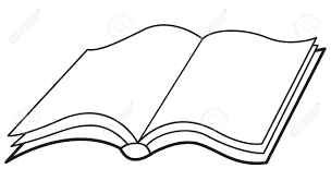 ilration of the open simple book icon stock vector 85478603