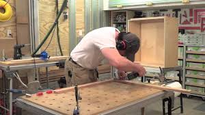 Building A Kitchen Cabinet Building Kitchen Cabinets Part 20 Making Face Frames For The Wall