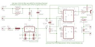 tacho circuit board replacement for classic tachometers universal tach circuit diagram org