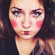 simple clown makeup