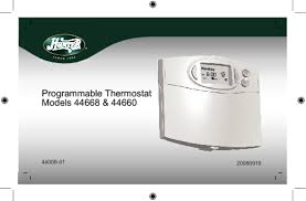 thermostat users guides thermostat page 26 44660 manuals
