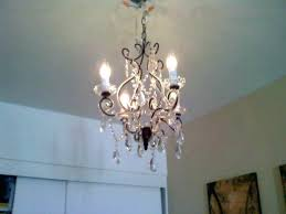 plug in chandelier hanging lighting swag install a light fixture anywhere minutes chandeliers into outl