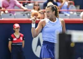 Aryna Sabalenka showed again how high ...