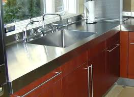 stainless steel countertop ikea with sink used countertops for commercial