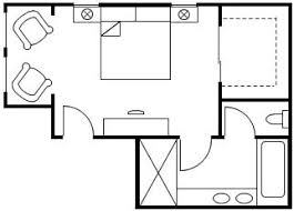 Standard Size Of Rooms In Residential Building And Their