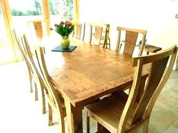 round oak kitchen table solid tables and chairs large dining for roun