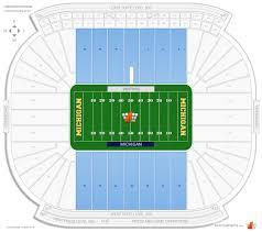 Michigan Stadium Sideline Football Seating Rateyourseats Com