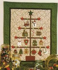 315 best Navidad patchwork images on Pinterest | Patterns, DIY and ... & Christmas Applique Quilt Pattern Trim A Tree Mumms The Word Adamdwight.com