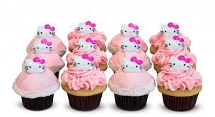 Hello Kitty Dozen Trophy Cupcakes Party