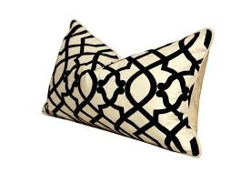 black and cream pillows. Contemporary Black To Black And Cream Pillows K