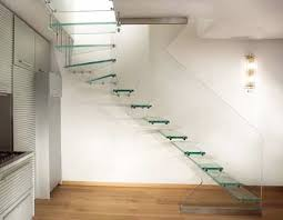 Floating / Cantilevered Glass Staircases