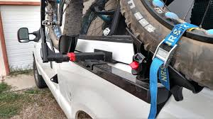 bicycle rack for truck hitch or truck bed mounted bike carrier ...