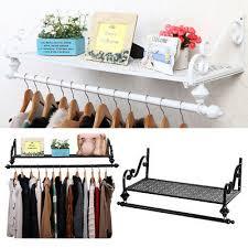 wardorbe clothes rail coat hanger wall