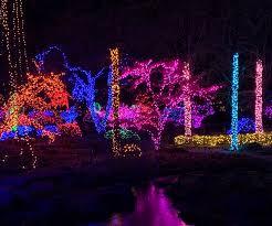 Janesville Rotary Gardens Light Show