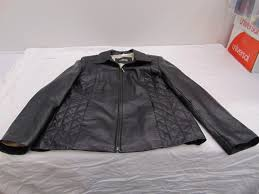 kasper women s leather jacket