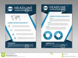 Business Brochure Flyer Design Template. A4 Size Stock Vector ...