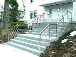 Exterior Handrail Designs Model Custom Decorating Design