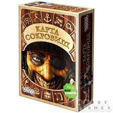ludattica игра настольная сокровища пиратов