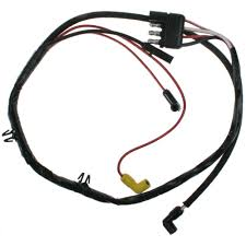 mustang engine gauge feed wiring harness w a c small block 67 68 engine gauge feed wiring harness air conditioning small block 1967 1968