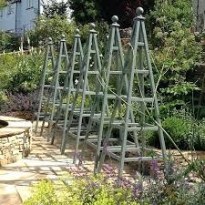 garden obelisk trellis. Garden Obelisk 6 Wooden Obelisks Painted Wild Thyme Shades Trellis Plans B