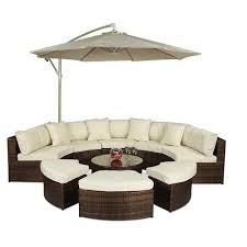 haringe 8 seater rattan sofa set