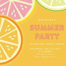 party invite template gangcraft net summer party invitation templates template party invitations