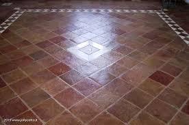 Pavimenti In Cotto Roma : Pulizia recupero e trattamento pavimenti in cotto interno con