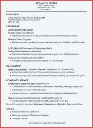 Resume With No Job Experience Resume Examples No Job Experience