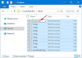 How to Batch Rename Multiple Files in Windows 10 | Password Recovery