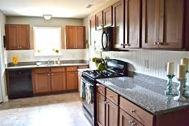 ... Cherry Cabinets Beadboard Backsplash Beadboard Backsplash Behind Stove:  Amazing Wainscoting Backsplash Kitchen ...