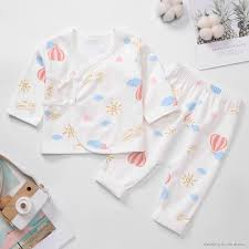 ◇◘Newborn baby clothes spring, autumn and winter monk clothing 0 cotton  underwear set pants 3 mont | Shopee Indonesia
