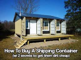 cheap shipping containers. Modren Cheap How To Find And Buy A Shipping Container U2013 With 2 Secrets Get Them Dirt  Cheap Containers