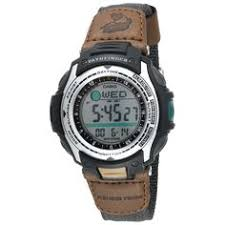 citizen men s bm6400 00e eco drive canvas watch watches amazon casio men s pathfinder forester fishing moon phase watch the casio forester moon phase fishing watch is the perfect timepiece for avid anglers