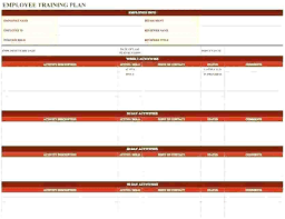 Employee Training Record Template Excel Download By Records