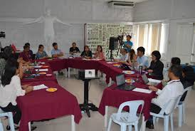 upou holds first round table discussion on assessment with stou visiting researcher