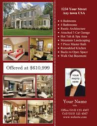 door hanger design real estate. 8½ X 11 - Real Estate Flyers Door Hanger Design 0