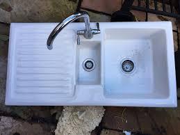 ceramic kitchen sink standard size 1 1 2 bowl cardiff still available