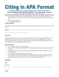 Apa Style Essay Example Paper Research 6th Edition With
