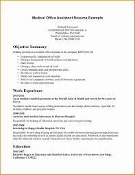 Medical Support Assistant Resume Examples Medical Support Assistant Resume Sample Lovely Resume Medical 11