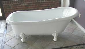 cast iron clawfoot tub for copper bathtub pros and cons best claw foot tubs old