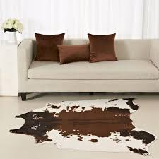 Großhandel Brown Kuhfell Teppich Zebra Teppich Kreative 150 130 Cm