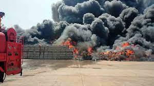 ไฟไหม้โรงงานเครื่องใช้ไฟฟ้าเสียหายนับล้านบาท จ.ปราจีนบุรี - 77 ข่าวเด็ด