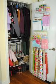 image of creative diy small space saving closet organization ideas