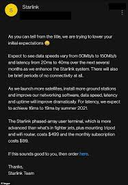 Learn about the starlink starter kit & more about starlink internet. Spacex Is Set To Unleash Its Starlink Better Than Nothing Beta Service For 600 Upfront Readsector