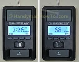 chamberlain garage door sensors garage door opener smart control panel chamberlain garage door opener disable sensors